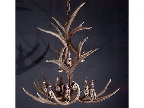 Hjort gevir lampe