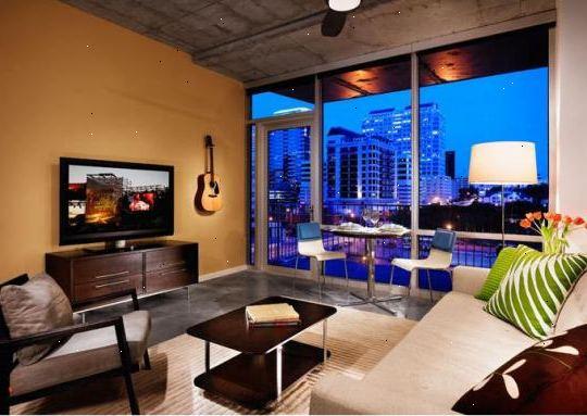 Hvordan dekorere et moderne studio leilighet