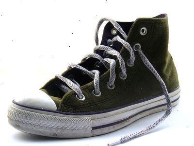 hvordan vaske hvite sko