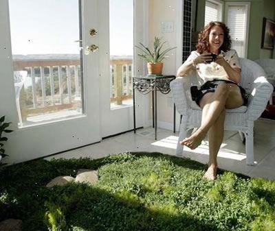 Hvordan bruke feng shui å organisere overbygd terrasse eller ...